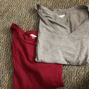Lot of Two T-Shirts Size L